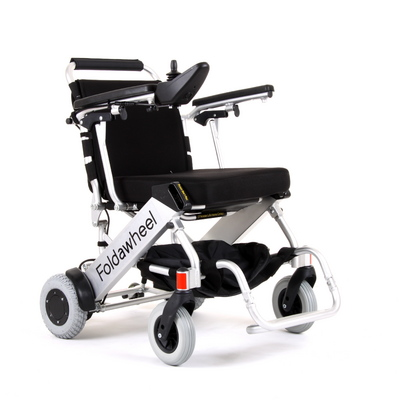 foldawheel_electric_wheelchair  sc 1 st  Mobility Scooters & Foldawheel Electric Wheelchair (The Worlds Lightest Folding Electric ...